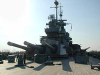 USS North Carolina Feb 2002